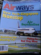 Airways magazine New York- Singapore Nonstop October 2004