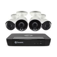 Swann 8 4K CCTV System NVR-8580 2TB HDD & 4 x 4K SWNHD-885MSB Cam swnvk-885804
