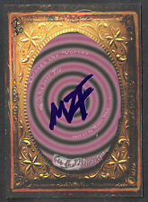 "MONSTERS ZOMBIES & FREAKS ""VORTEX CARD"" MZF PURPLE FOIL STAMPED (#7/30) RARE!"
