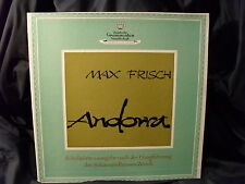 Max Frisch - Andorra       2 LPs