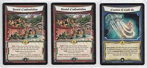 L5R - Paket Of 3 Cards - To Choose - Selten - Legend Of The Five
