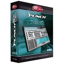 NEW Rob Papen Punch Virtual Drummer Synth Instrument Cubase Logic Plug In PC/MAC