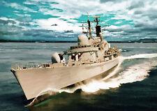 HMS Manchester-finito a mano, edizione limitata (25)