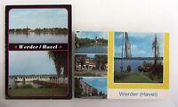 2x DDR Postkarte von Werder Havel Kr. Potsdam Brandenburg Postkarten Lot gelauf.