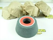 """New listing 5 New! Carborundum Silicon Carbide Cup Grinding Wheels 4"""" X 1-1/2"""" X 1-1/4"""" Gc60"""