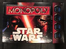 Star Wars Monopoly Game Factory Sealed Disney Hasbro Gaming #B0324, 2015