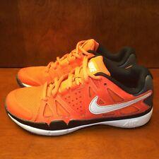 Nike Air Vapor Advantage Men's Orange Athletic shoes size 7.5 M Tennis Shoes