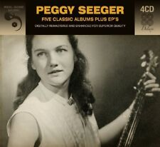 Peggy Seeger FIVE (5) CLASSIC ALBUMS +EPs Animal Folk Songs NEW SEALED 4 CD
