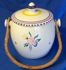 POOLE POTTERY TRADITIONAL KP PATTERN SHAPE 230 BISCUIT BARREL JOSEPHINE PRICE
