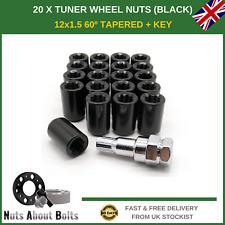 NERO sickspeed Lug Nuts 60//90mm Spiked m12x1.5 DADI RUOTA 4er