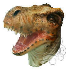 Latex Full Head Tyrannosaurus T-Rex Dinosaurs Reptile Fancy Carnival Party Masks