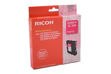original RICOH GC 21M GC21M 405534 Gel ink Magenta A-Ware MHD MHD 02-03/2018