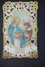 Image pieuse  holy card Sainte Elisabeth Santa Isabel début XXème