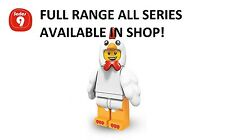 Lego minifigures chicken suit guy series 9 (71000) unopened new factory sealed