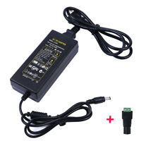 12V 5A 5 amp 60W DC POWER Supply ADAPTER Transformer LED Strip Light, CCTV, PC