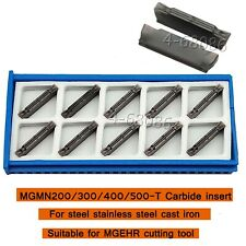 MGMN300-T 3mm grooving blade Cutt-offCarbide insert universal material for MGEHR