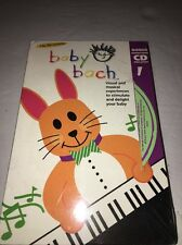 BABY EINSTEIN BABY BACH BONUS CD IS INCLUDED VHS TAPE-RARE VINTAGE-SHIPS N 24 HR