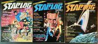 Starlog Magazine Lot of 40 Issues #3-47 STAR WARS ALIEN SUPERMAN TREK 3 ANNUALS