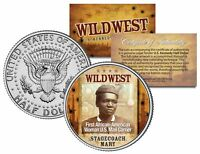 STAGECOACH MARY * Wild West Series * JFK Kennedy Half Dollar U.S. Coin