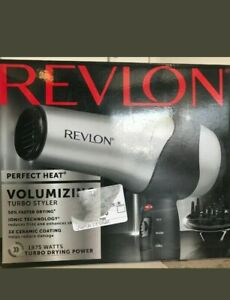 Revlon Perfect Heat Volumizing Turbo Styler Hair Dryer 1875 Watts