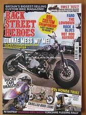 Back Street Heroes November 2016 Ducati Cafe Dragster Honda Trike XS650 MGX-21