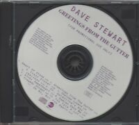 DAVE STEWART / GREETINGS FROM THE GUTTER * NEW PROMO CD 1994 * LIMITED EDITION *