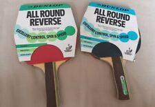 Dunlop table tennis bat paddles