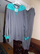 Ladie's Amanda Paige Soft Sleepwear PJ Top / Bottom Set Loungewear 4X NWT