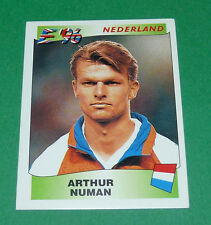 N°83 NUMAN NEDERLAND PAYS-BAS PANINI FOOTBALL UEFA EURO 96 EUROPE EUROPA 1996