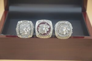 3 Pcs 2010 2013 2015 Chicago Blackhawks Stanley Cup Championship Ring //