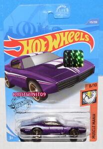 Hot Wheels 2020 Muscle Mania Personnalisé Otto #173/250 Violet Usine Scellé W+