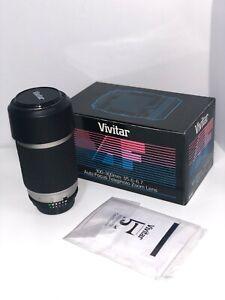 Vivitar AF 100-300mm f/5.6-6.7 Autofocus Lens - NEVER USED - For Nikon AF