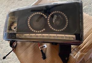 1994-2001 Dodge Ram Dual Projector RGB Halo Headlights