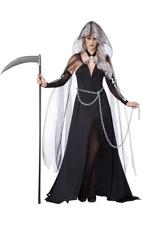 Califonia Costumes Lady Reaper Fancy Dress Sixe XS