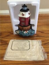 Harbour Lights, SANDY POINT, MD Lighthouse. #167. In box. COA.