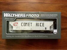 WALTHERS PROTO 1/87 HO 58' EVANS COVERED HOPPER COMET RICE ITEM # 920-106107 F/S