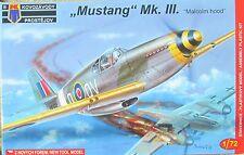 """KPM (AZ Models) 1/72 kpm0032 North American RAF MUSTANG MK III """"Malcom cappuccio"""""""