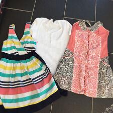 Miss Selfridge, Wal G Topshop vestidos x 2 Acanalado Parte superior blanco Talla 8