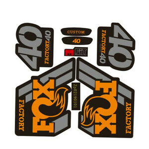 FOX40 stickers of mountain bike/bicycle front fork for MTB Accessories decals