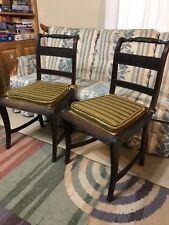 English Regency 1805-1810 Rosewood Chairs MORGAN & SANDERS BEAUTIFUL AND RARE!
