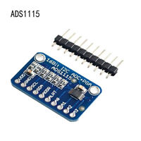 ~ADS1115 4 Channel 16 Bit I2C ADC Module with Pro Gain Amplifier for Arduino Rpi