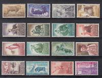 ESPAÑA (1960) NUEVO MNH SPAIN - EDIFIL 1254/69 TOROS TAUROMAQUIA