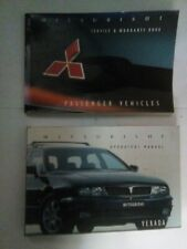 Mitsubishi Verada KF Operators Manual/Service Book