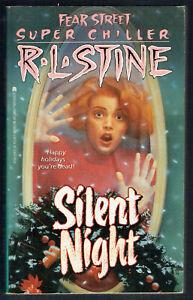 FEAR STREET,R L STINE, SILENT NIGHT, 1991, VGC, UNREAD.
