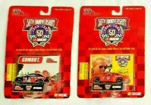NASCAR 1998 Racing Champions 50th Anniversary 1:64 Scale Diecast #30 / #50