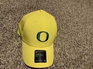 Nike Oregon Ducks LEGACY91 HAT 1Size Unisex W/stickers Yellow