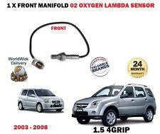 PARA Suzuki Ignis 1.3 1.5 2003- > Delantero PRE CAT COLECTOR 02 SENSOR LAMBDA