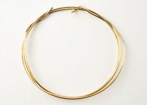 14k Gold Filled Round Half Hard Wire 18 gauge Made in USA