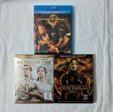 The Hunger Games Blu-ray Lot 3-Film Collection