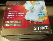 Smart Titanium Universal Monoblock Twin LNB TMT 6 NEW  Astra 19.2° Hotbird 13°